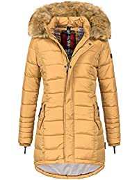3159a6a06a Navahoo Papaya Damen Winter Jacke Steppjacke Mantel Parka gesteppt warm B374