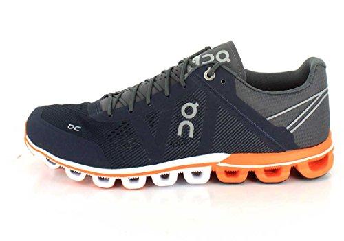 On Running Cloudflow Malibu Neon anthrazit/orange