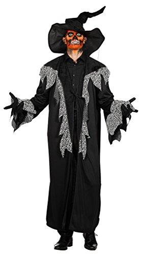 Karneval-Klamotten Zauberer Kostüm Herren Hexer Kostüm Voodoo Medizinmann Herren-Kostüm Größe - Medizinmänner Kostüm