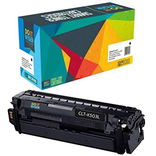 Preisvergleich Produktbild Do it Wiser Kompatibel Toner CLT-K503L für Samsung C3060FR C3010ND C3060ND - Schwarz (8000 Seiten)