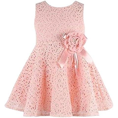 Malloom® Chicas niños princesa completo encaje floral vestido vestido De Fiesta