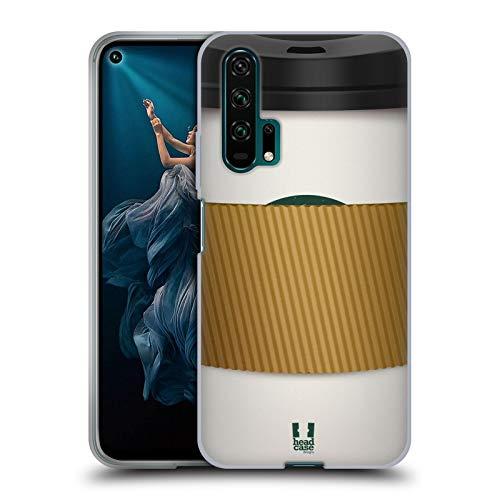 Head Case Designs Ärmel Kaffeetassen Soft Gel Huelle kompatibel mit Huawei Honor 20 Pro