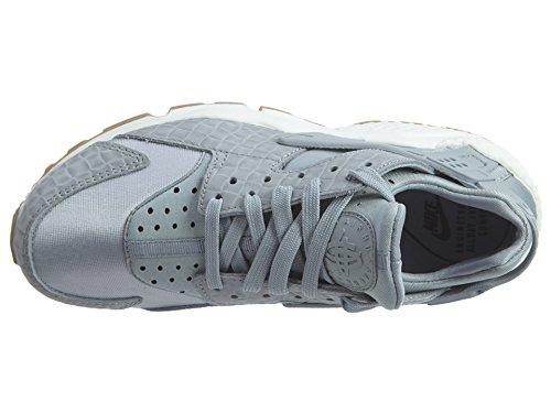 Nike, Abbigliamento sportivo Donna The Racer Canottiera Wolf Grey/Sail/Gum Medium Brown/Wolf Grey