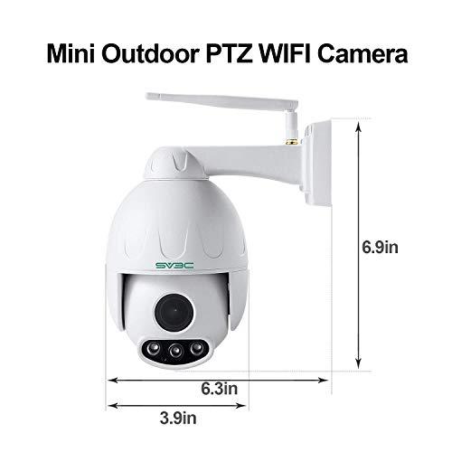 SV3C PTZ Telecamera di Sorveglianza IP Camera ONVIF
