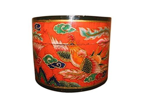 Vernit china boîte à bijoux original 50 ans