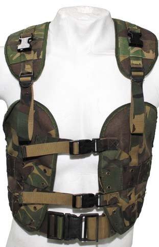 ORIG. HOLLÄNDISCHE WESTE Tactical load bearing taktisch dpm NL tarn Armee