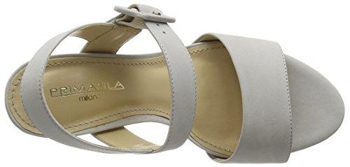 Primafila - 88.1.027, Scarpe col tacco con cinturino a T Donna Grigio (Grigio (grigio))