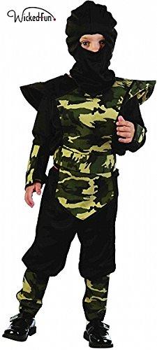 üm Unter 4Jahren (Kleinkind Ninja Kostüme)