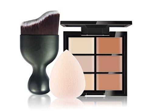 FantasyDay Langanhaltendes Creme Concealer in der Farbe 6 Highlight Contour Make-Up Corrector Camouflage Palette Gegen Hautunebenheiten +...