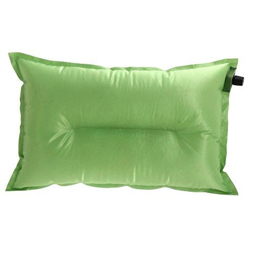 broadroot portátil almohada automático cojín almohada de aire inflable al aire libre Viajes, verde