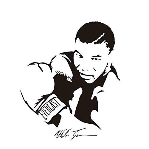 Boxhandschuh Tyson Aufkleber Kick Boxer Spielen Auto Aufkleber Free Combat Poster Vinyl Aufkleber Wandtattoos Parede Decor (Auto-aufkleber Spiel)