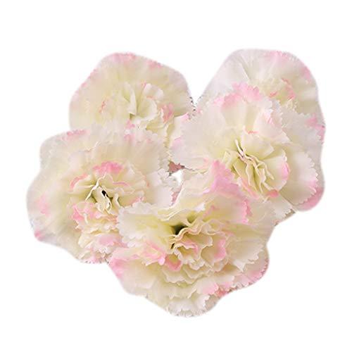 Kakiyi 5Pcs Künstliche Pfingstrose Blüte Knospe Brosche Haarspange Blumen Brosche Wedding Bouquet Dekoration
