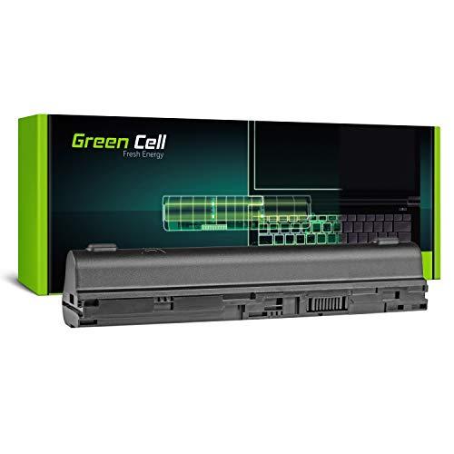 Green Cell Extended Serie AL12B31 AL12B32 AL12B72 Laptop Akku für Acer Aspire One 725 756 | Acer Aspire V5-121 V5-131 V5-171 (6 Zellen 4400mAh 11.1V Schwarz)