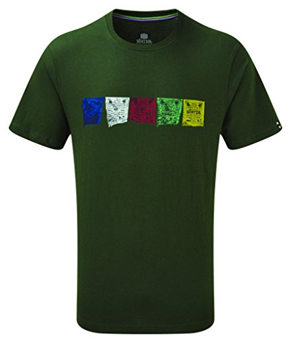 Sherpa Adventure Gear Herren Tarcho T-Shirt Mewa Green