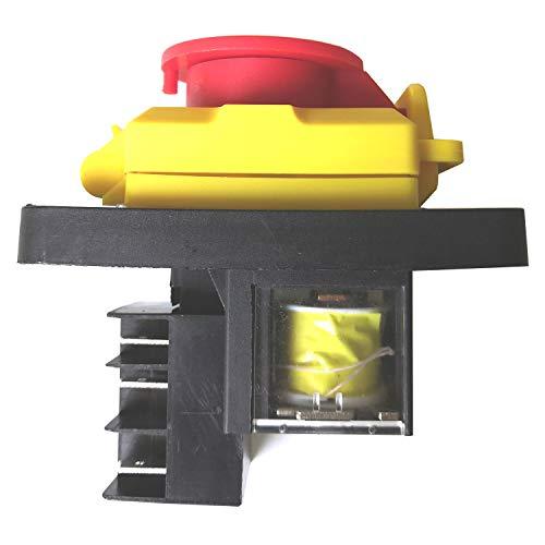 KEDU KJD12-14 250 V 6 Pin Start Stop Interruttore a Pulsante Industriale per Sega da Trapano