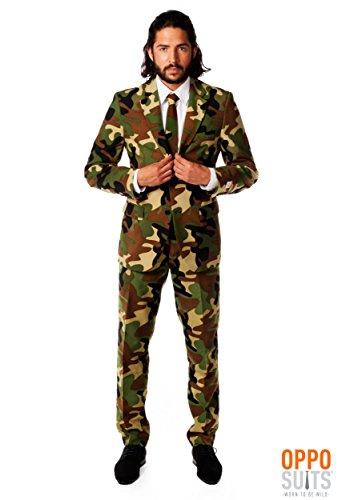 Opposuits Herrenanzug Camouflage L -