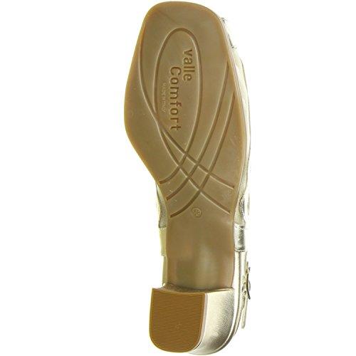 Vista Damen Slingpumps gold Gold