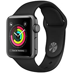 Apple Watch Series 3 OLED GPS (satélite) Gris Reloj Inteligente - Relojes Inteligentes (OLED, Pantalla táctil, GPS (satélite), 18 h, 26,7 g, Gris)