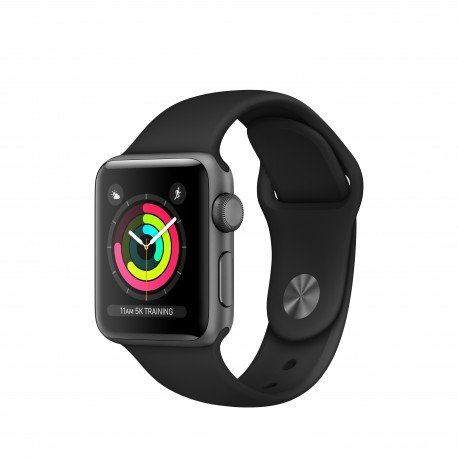 Apple Watch Series 3 OLED GPS (satélite) Gris reloj inteligente - Relojes...