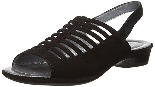 Rohde5276 - Sandali  donna Nero (Black (90))