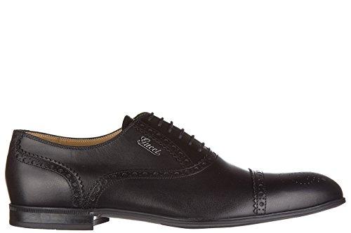 gucci-scarpe-stringate-classcihe-homme-in-cuir-nuove-cirano-lux-noir-eu-40-233519-arp00-1000