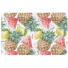 Kawaii Fruta rosada Verano Sandía grande Impreso Ropa de cama Suave para perros mascotas Sofá Para
