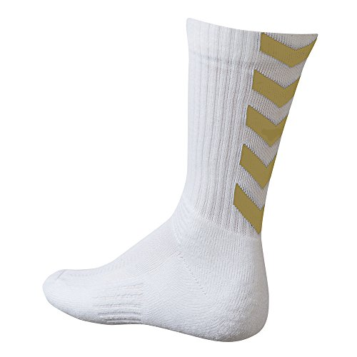 Hummel - Calzino Authentic Trophy, bianco, 43/45