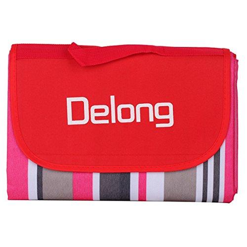 delong-pb-02-manta-de-picnic-extra-grande-con-bolsa-impermeable-de-78-x-57-cm-rojo