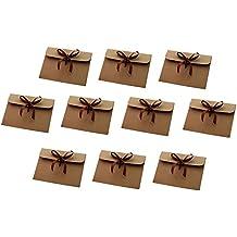 x jungen kraft sobres sobres lazo retro regalos ideales para tarjetas de felicitacin y