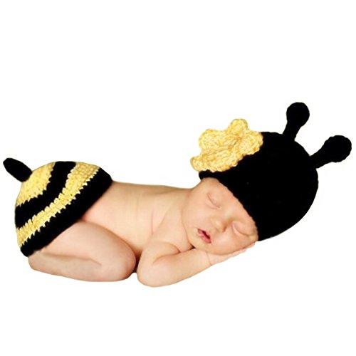 Imagen de ateid disfraz atrezzo de fotografía traje para bebé recién, 0 12 meses, abeja