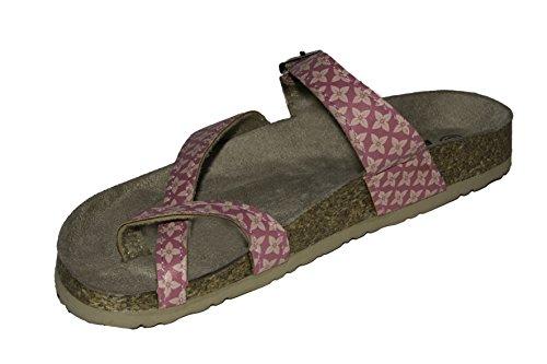 BRASILERAS Alem Reg–Women's Sandals, Color Pink, Size 37
