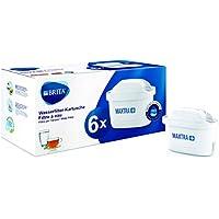 BRITA Wasserfilter-Kartusche MAXTRA+ 6er Pack – Kartuschen für alle BRITA Wasserfilter zur Reduzierung von Kalk, Chlor & geschmacksstörenden Stoffen im Leitungswasser