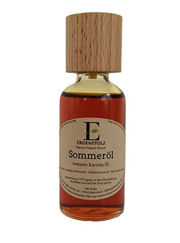 Sommeröl Oilpure Organic Beauty Intensiv Bio Karotin Öl /Carotin Öl / Karotinöl 50ml pure Natur Sanddorn + Karotten + Kaffeeöl /...