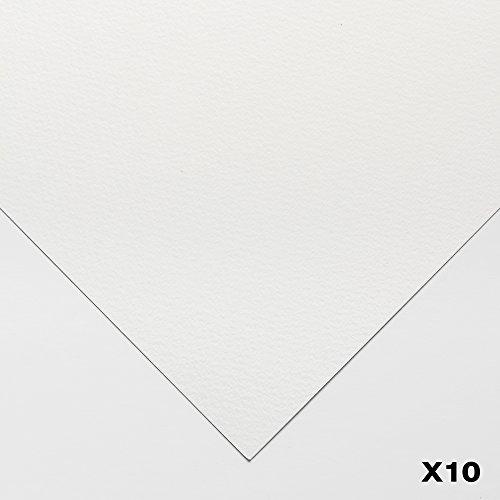 Fabriano Carta acquerello: 140lb (300g/M²) Not 50x 70cm (19X 27in)-Confezione da 10