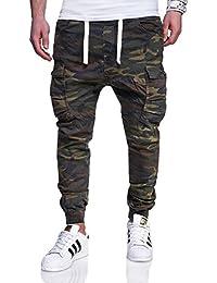 MT Styles Cargo Jogging-Jeans Camouflage pantalon RJ-3188