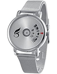 Pooja Fashion New Arrival Special Collection Paidu Round Analogue White Dial Men's Watch | Fashion Wrist Watch...