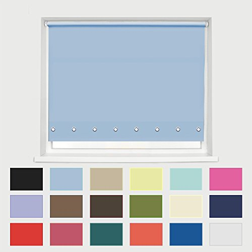 chrome-effect-round-eyelet-edge-roller-blind-blue-60cm-236