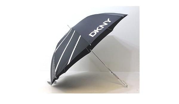 DKNY large unisex Black golfing style Umbrella NEW