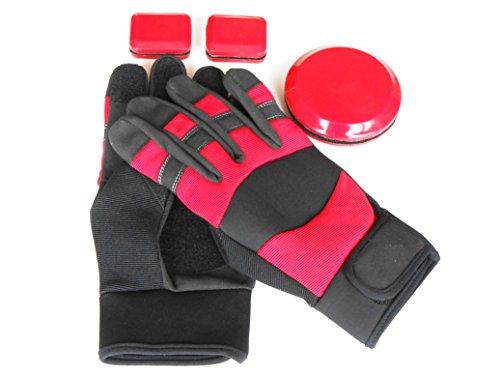 Calidad superior Envasadora guantes/guantes Longboard/Freeride guantes. Talla:mediano