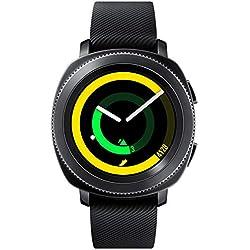 Samsung Gear Sport Montre connectée SM-R600 (Bluetooth/Compatible iOS), Noir - Version Internationale