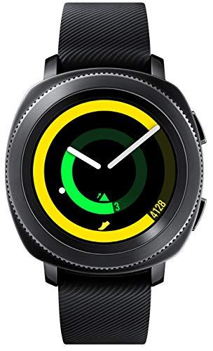 samsung gear sport smartwatch sm-r600 per ios e android, impermeabile 5atm, lettore mp3 integrato, nero [versione internazionale]