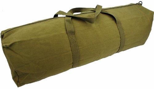 Highlander Werkzeugtasche mit gewebten Griffen 61 cm Grün - Olivgrün