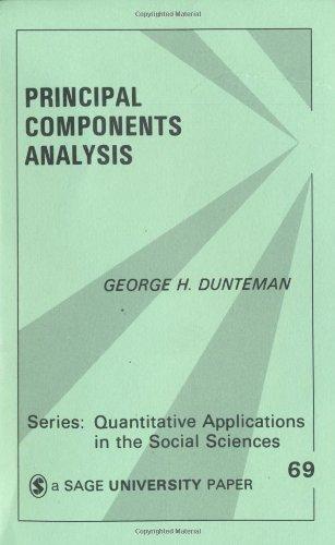 Principal Components Analysis