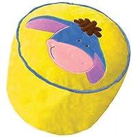 Preisvergleich für Sitzsack aufblasbar AAH von Winnie Pooh–Sitz Disney-Dekoration Einer Kinderzimmer–Sessel Original–Höhe 30cm Durchmesser 35cm