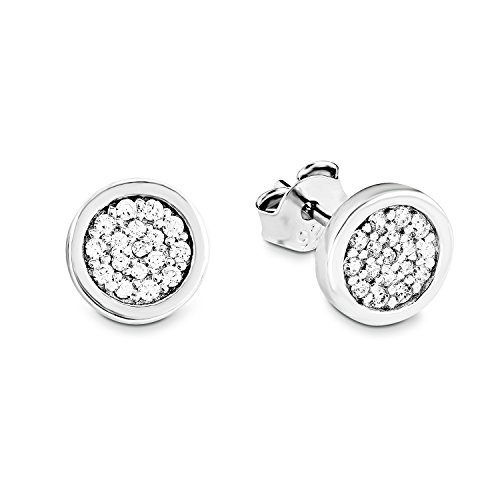 s.Oliver Jewels 504065 Damen-Ohrstecker 925 Sterling Silber