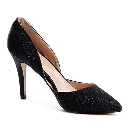 Topschuhe24 Chaussures À Talons Pour Femme Noir (noir)