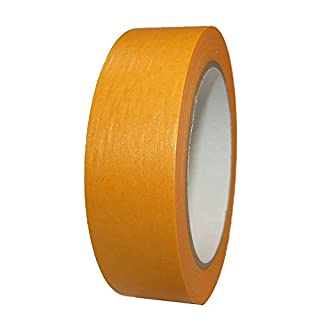 Fineline Goldband 50mm x 50m PROFI Abdeckband UV Klebeband Malertape Schutzband