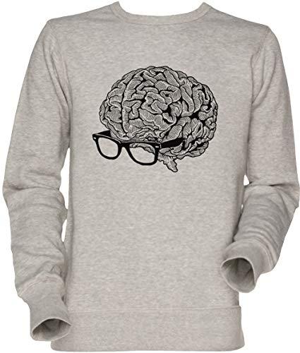 Camiseta Cerebro con Gafas Unisex
