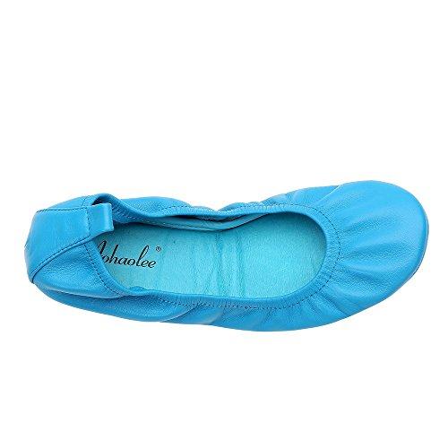 Aohaolee - Balletto donna Blue