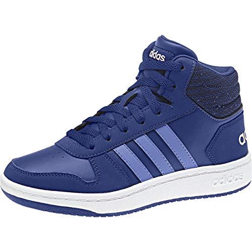 adidas Unisex-Kinder Hoops Mid 2.0 Basketballschuhe, Blau Mysink/Realil/Cleora, 29 EU
